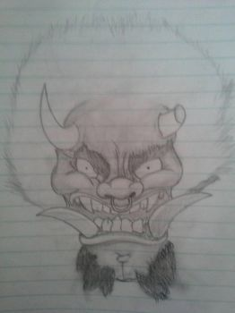 demon japonese  by guille17