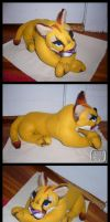 Cougar Plush by VesteNotus