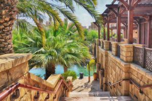 Dubai Madinat Jumeirah Souk by georgeparis