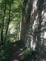Castle Wall STOCK by Chiron178