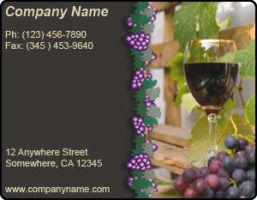 Ad Template - Wineries by drkdsgn