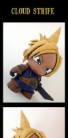 Cloud Munny by Poo-Fly