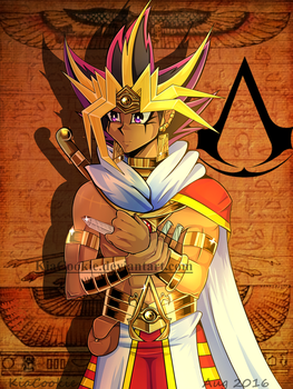 FF_ Egyptian Assassin by KiaCookie