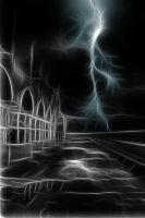 Ghostly Lightning by Dancing-Earth