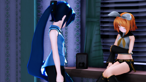 [MMD] Scolding by caio4856