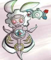 Magearna and magnemite