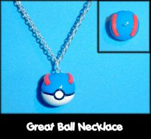 Great Ball Necklace Charm by YellerCrakka