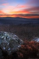Sunrise from the Ridge by FlorentCourty