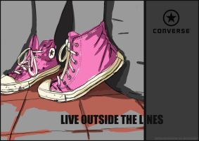 Live outside the lines by princekyo4ever