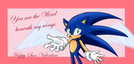 Sonic San Valentine - Card by SweetSilvy