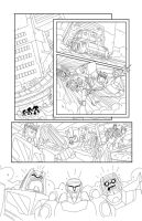 TF Animated Botcon page 9 inks by MarceloMatere