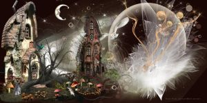 FORESTDWELLERHOUSES AND FAIRYDUST by VaL-DeViAnT