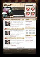 WordPress Theme 2 by dellustrations