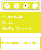 Metro dock yellow by TheDhruv