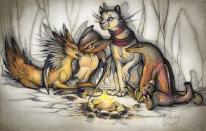 Campfire song song by Chaluny