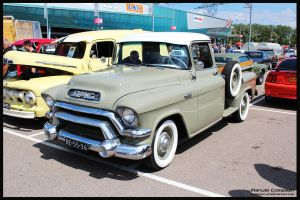 1956 GMC Pickup Hydromatic by compaan-art