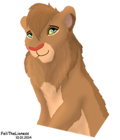 New lioness - Dalila by M-WingedLioness