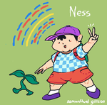 it's ness by brotoad