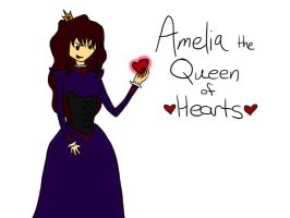 New OC! Amelia: The Queen of Hearts by AskRamona