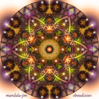 Mandala 19 - Collaboration 2 by Mandala-Jim