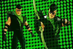Retro Green Arrow 1960-1990.jpg by bat123spider
