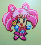 Chibi Sailor Chibi (Mini) Moon Perler by Perler-Pop