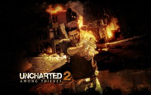 Uncharted 2 Wallpaper by Draicus