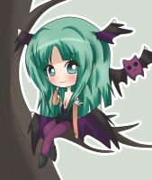 Detailed Chibi: Morrigan by Kimi-Juu