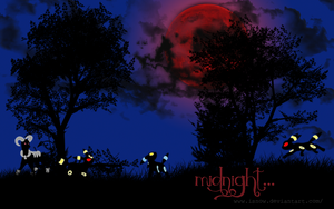 Wallpaper: midnight.. by iSnow