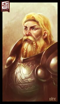 Daily Sketch - Ulric by Ruloc