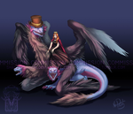 Commission: The Draconian Queen by ShadeofShinon