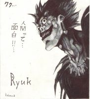 Ryuk, shinigami from Death Note by Shinigami-uta