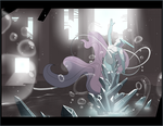 The Birth of Suicune by RequiemBeatz