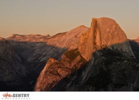 Half Dome at Dawn by TopherGentry