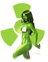 She-Hulk by AgentRedd