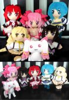 Madoka Plush Group Photos by Nikicus