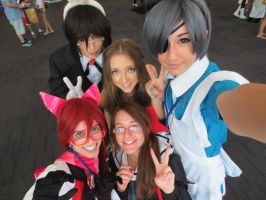 Ciel in Wonderland- Wai con Perth 2014 by StillDollArtist