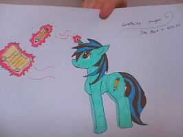 Graphite smudger my OC by bloostormbrony