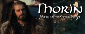 Thorin - Some folk we never Forget by Sapphire-Arkenstone