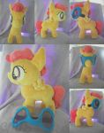 Commission: Scootaloo Plush with Goggles by CrescentMoon96