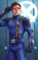 Cyclops - X-MEN Apocalypse by JamieFayX