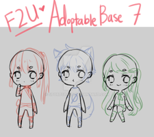 [F2U Bases] Adoptable Base Pack 7 by sportsbaes