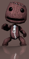 Sackboy DL by ZayrCroft