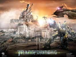 Transformers Dark of Karachi by injured-eye