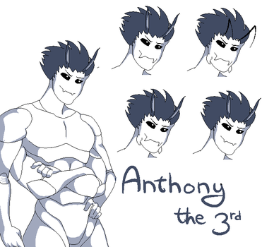 Anthony the 3rd by RedShiheart