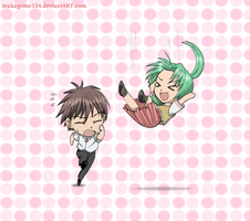 Keiichi to the rescue by inukagome134