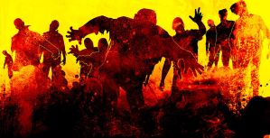 Dawn of the Zombie Walk by bandini