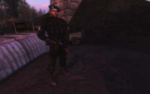 VDV Paratrooper by crowhitewolf