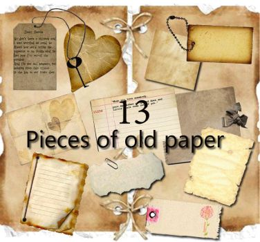 Old Paper pack 13 by miralkhan