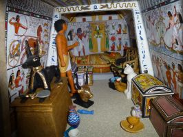 Egyptian Tomb by dashinvaine